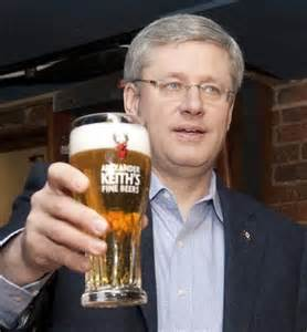 Stephen Harper: Likes beer and hockey. Not a fascist.